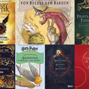 Weitere Bücher aus der Harry Potter Welt