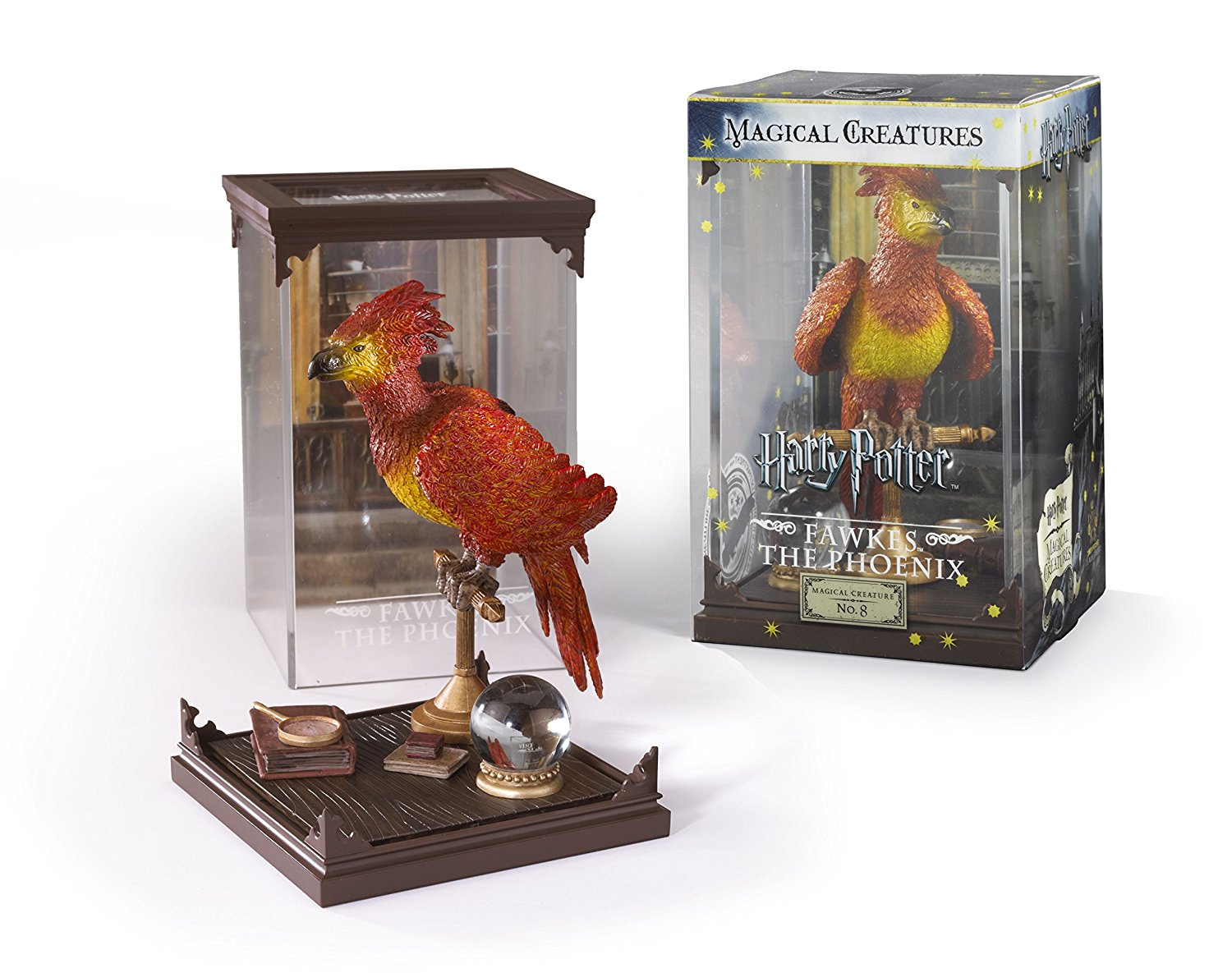 Fawkes der Phönix Sammelfigur Noble Collection aus Harry Potter