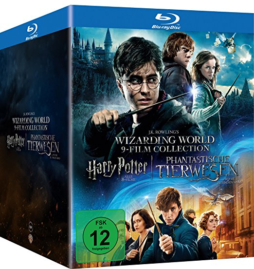 Kaufe die Wizarding World 9 Filme Collection bei Amazon