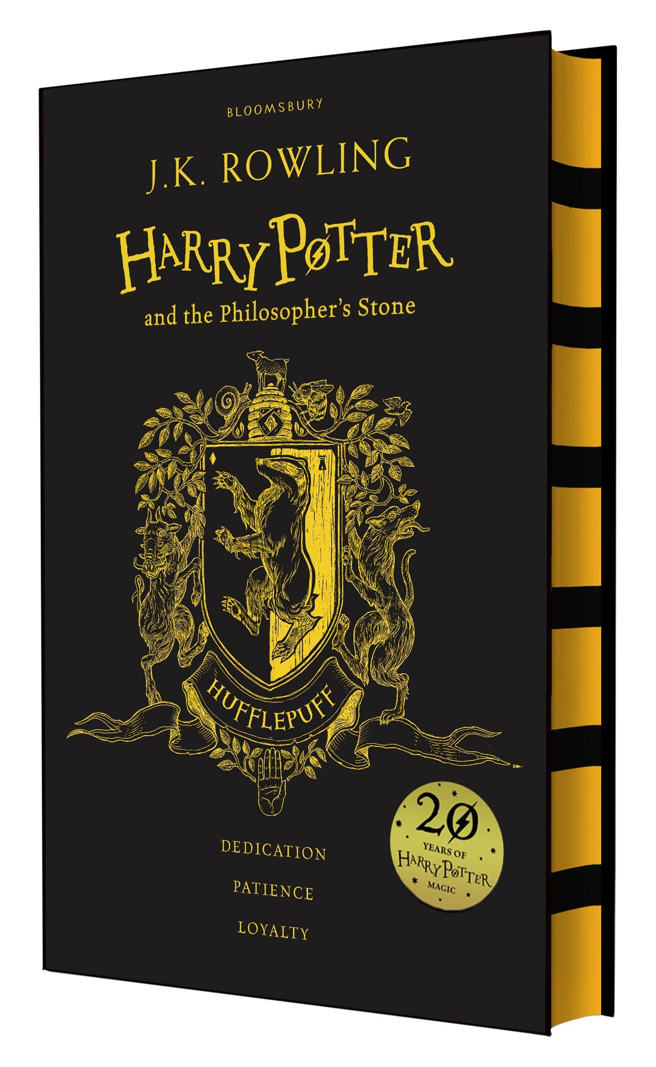 hufflepuff edition harry potter and the philosopher 39 s stone fantasium. Black Bedroom Furniture Sets. Home Design Ideas