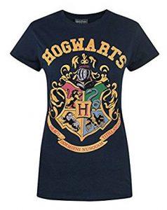 Harry Potter T-Shirt für Damen mit Hogwarts-Wappen