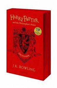 """Taschenbuch Gryffindor-Edition von """"Harry Potter and the Philosopher´s Stone"""" (Englisch)"""
