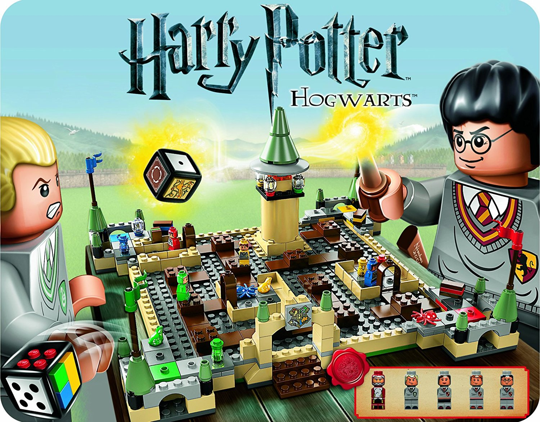 Das LEGO Brettspiel Harry Potter Hogwarts 3862