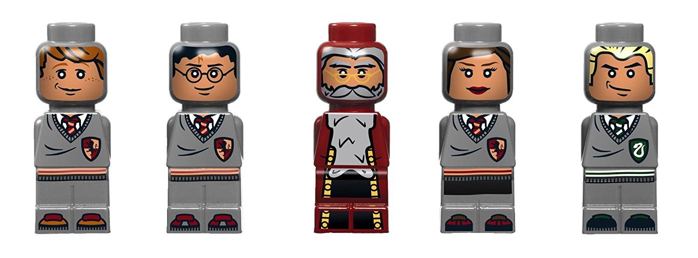 5 spezielle Mikrofiguren für das LEGO Spiel Harry Potter Hogwarts