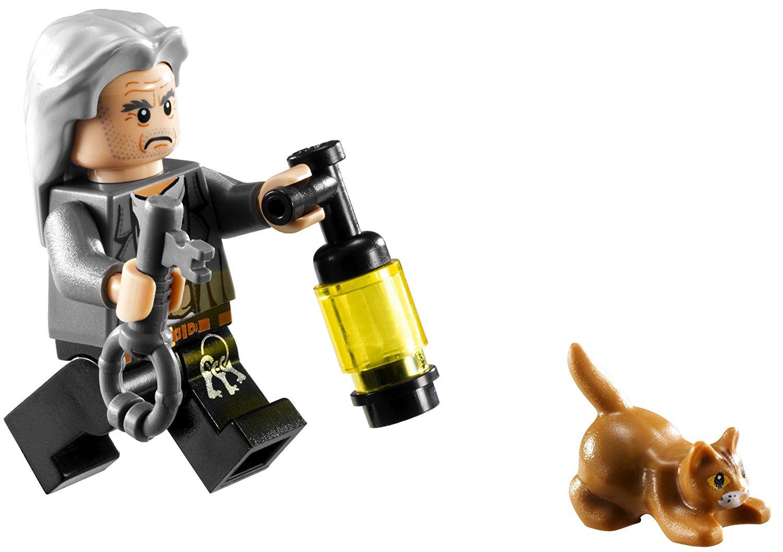 Filch Katze Minifigur LEGO-Set Schloss Hogwarts 4842 Harry Potter