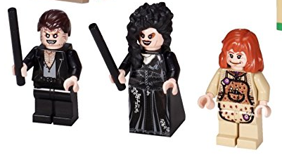 Minifiguren aus dem LEGO-Set Fuchsbau 4840 harry potter