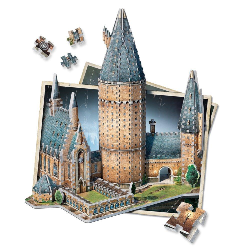 Harry Potter Große Halle Hogwarts-Schloss 3D-Puzzle