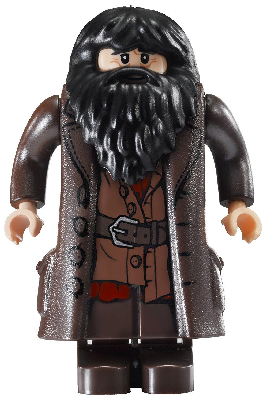 Hagrid Minifigur im LEGO-Set Hagrids Hütte 4738