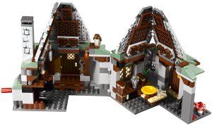 LEGO-Set Hagrids Hütte 4738 von Innen, Harry Potter