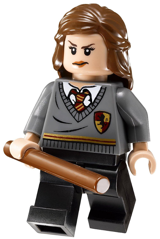 Hermine als Minifigur im LEGO-Set Hagrids Hütte 4738