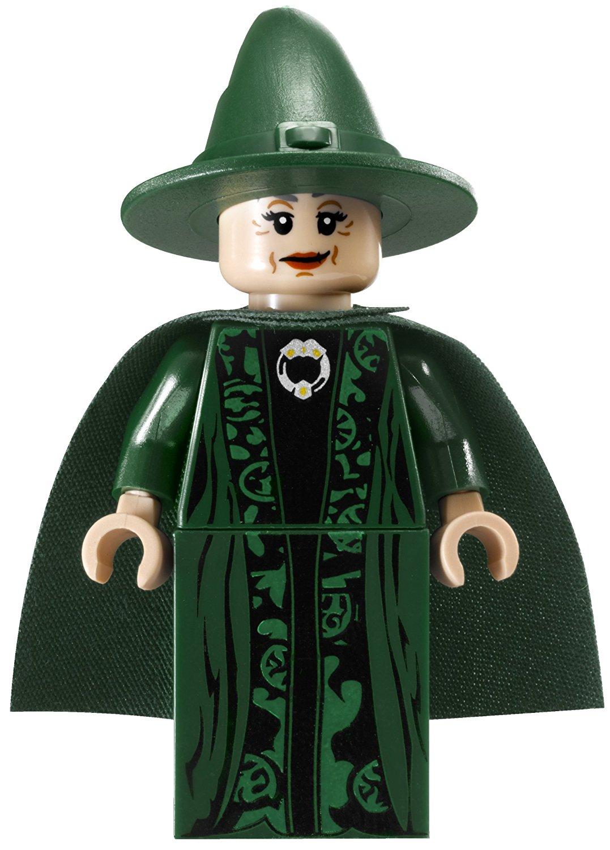 McGonagall Minifigur LEGO-Set Schloss Hogwarts 4842 Harry Potter