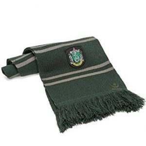 Slytherin Schal der Hogwarts-Schule aus Harry Potter