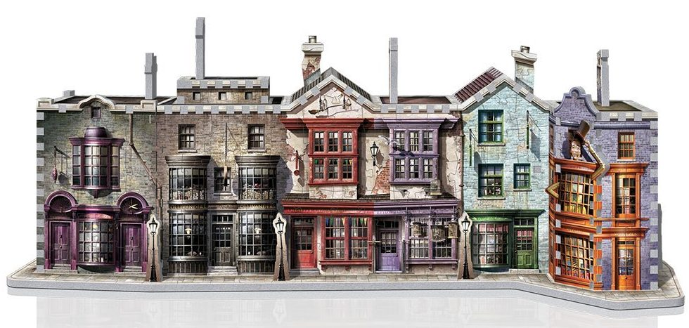 Winkelgasse harry potter 3d puzzle