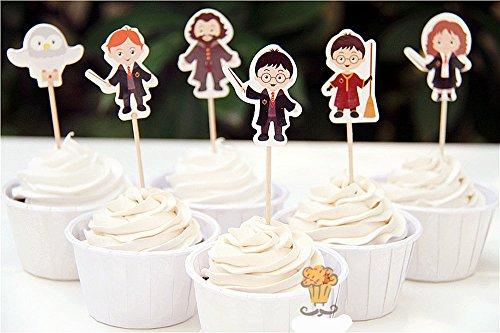 Cupcake deko fantasium - Harry potter party deko ...