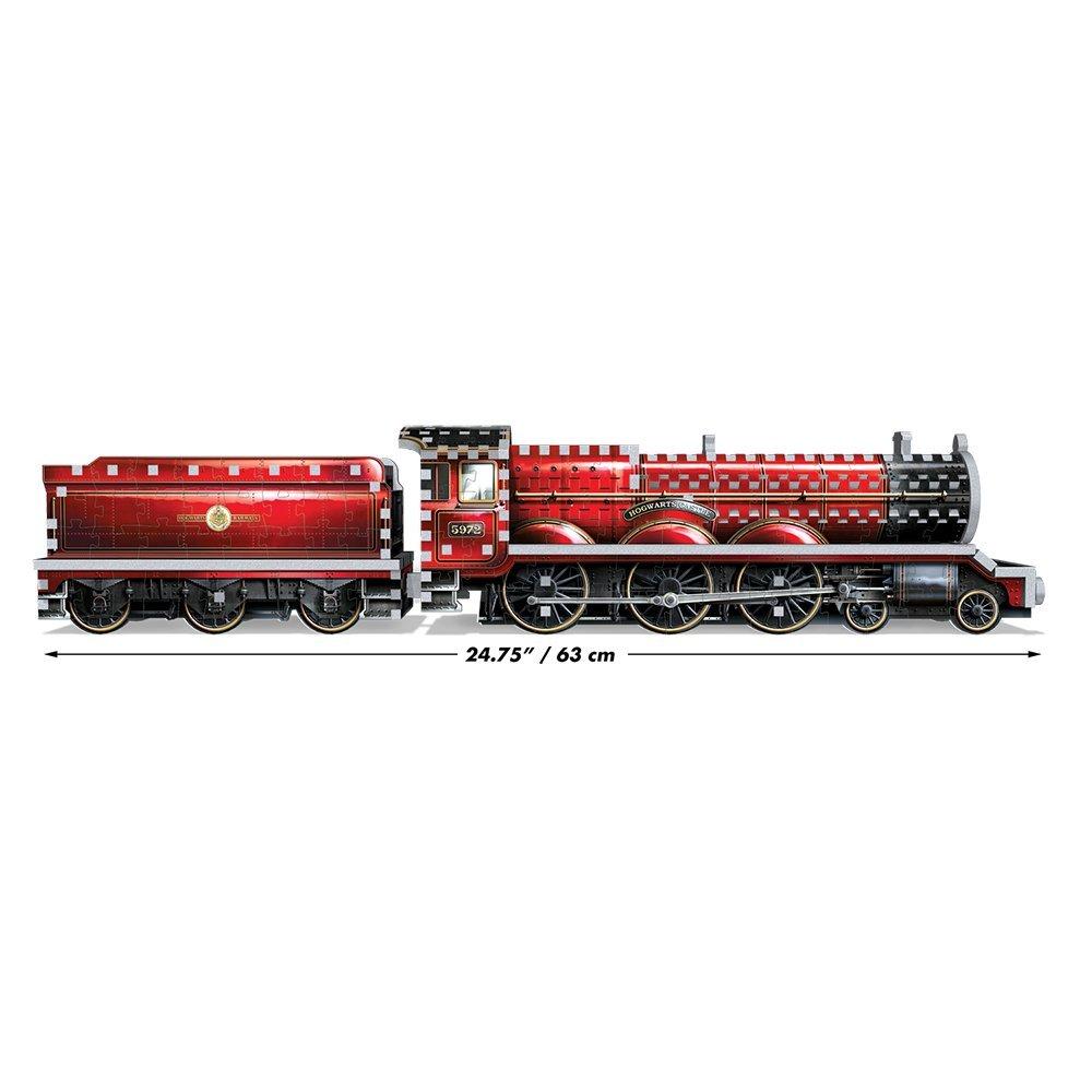 Der Hogwarts-Express als 3D-Puzzle, der Zug zur Schule, Wrebbit 3D Puzzle