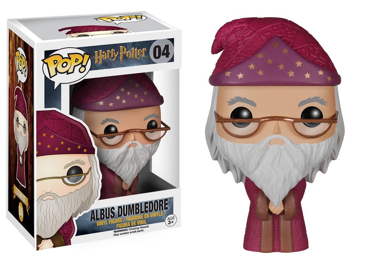 Funko Pop! Dumbledore mit rotem Umhang sammelfigur harry potter