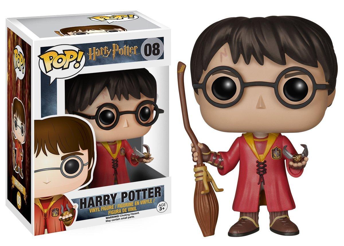 Harry Potter Funko Pop! Figur mit Quidditch-Umhang