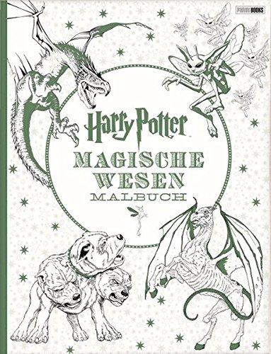 harry potter magische wesen malbuch fantasium. Black Bedroom Furniture Sets. Home Design Ideas