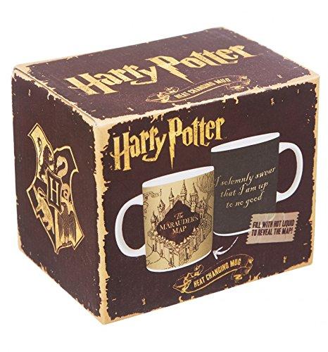 Farbwechseltasse / Thermotasse Harry Potter Karte des Rumtreibers