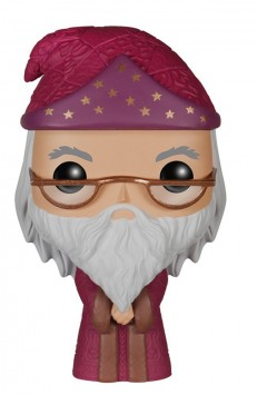 Dumbledore Funko Pop! Figur (roter Umhang) aus Harry Potte