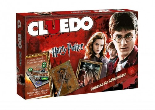 Cluedo Harry Potter Edition, Brettspiel, detektivspiel, familie