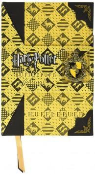 Deluxe Tagebuch Notizbuch von Hufflepuff