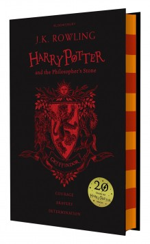 gebundene Ausgabe Buch Gryffindor-Edition Harry Potter and the Philosophers Stone Englisch