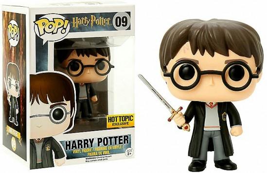 Harry Potter Funko Pop! Figur mit dem Schwert von Gryffindor Sammelfigur
