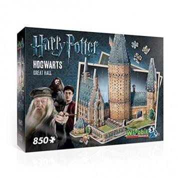 Hogwarts Große Halle als Wrebbit 3D-Puzzle