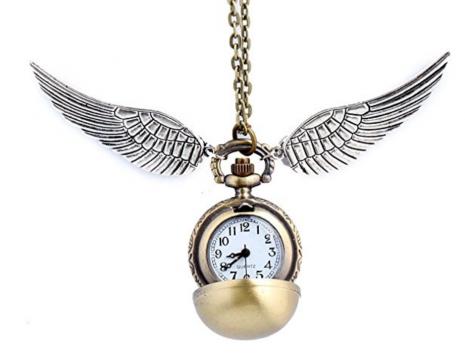 Schnatz Kette mit Uhr Harry Potter