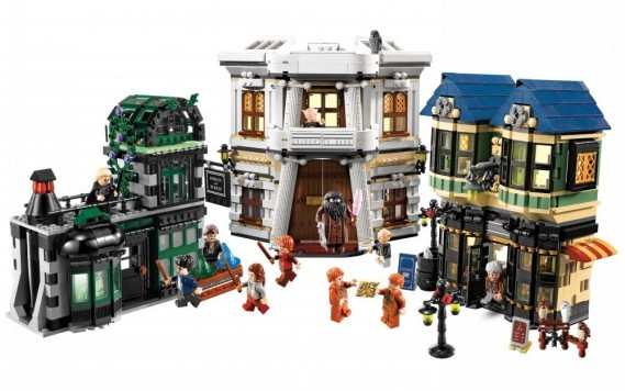 Die Winkelgasse 10217, LEGO-Set aus Harry Potter