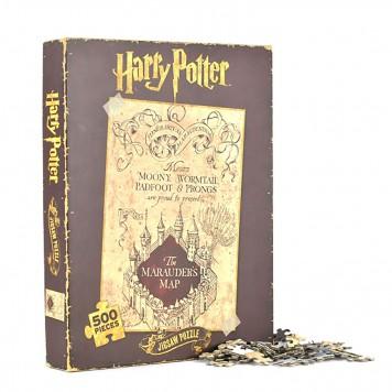 500-teiliges Puzzle der Karte des Rumtreibers aus Harry Potter